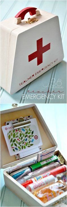 Emergency Kit Gift Idea... Perfect for teachers, friends and teens!