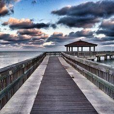 Dusk on the Casa Marina pier, in the Florida Keys. Photo courtesy of eachapman4 on Instagram.