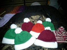 Warm beanie hats