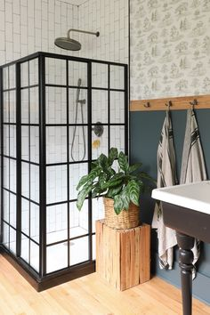 » BAYVIEW BARNHOUSE | Wooded Bathroom Renovation Reveal