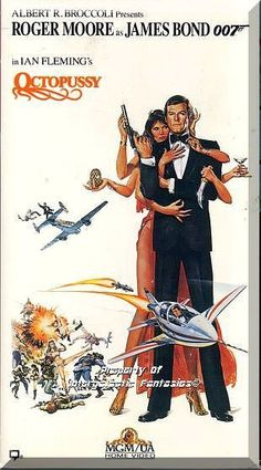 A fake Fabergé egg and a fellow agent's death lead James Bond to uncover an international jewel-smuggling operation, headed by the mysterious Octopussy, being used to disguise a nuclear attack on N.A.T.O. forces.  Only $6.49 with Free Shipping!
