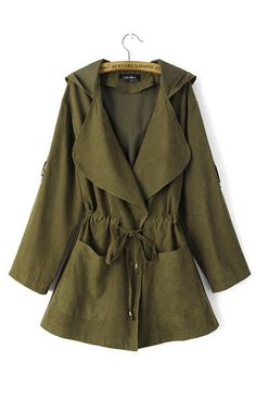 Specifications: Outerwear Type: Trench Gender: Women Decoration: Pockets,Adjustable Waist Clothing Length: Long Pattern Type: Solid Style: Casual Type: Slim Closure Type: Belt Material: Polyester,Nylo