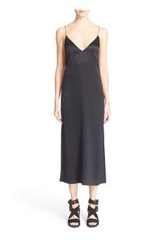 rag & bone 'Nina' Silk Midi Dress - on #sale 40% off @ #Nordstrom