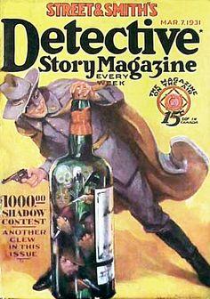 Detective  Story  Magazine by peterpulp.deviantart.com on @DeviantArt