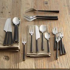 artisan hammered flatware