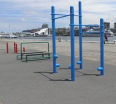 The Fitness Equipment from Moodie Outdoor Products is a durable and innovative piece of fitness equipment that has been specifically designed for public authorities.