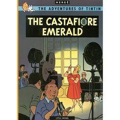 Livro - The Castafiore Emerald - The Adventures Of Tintin