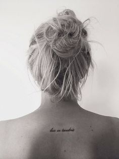 "20 Small Tattoos With Big Meanings | The Odyssey- ""Light in darkness"""