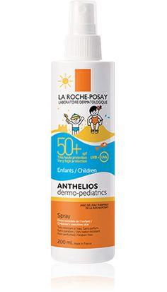 Anthelios Dermo-Pediatrics SPF 50+ Spray fácil aplicación  packshot from Anthelios, by La Roche-Posay