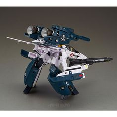 Super Dimension Fortress Macross Do You Remember Love? ARCADIA 1/60 Action Figure : VF-1S Strike Valkyrie [Roy Focker Special Ver.]