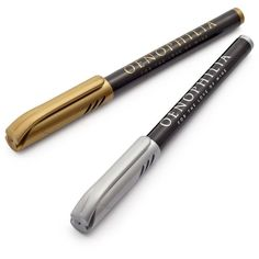 Sur La Table® Metallic Bottle Pens, Set of 2 found on Polyvore