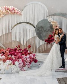 Modern Wedding Arches and Backdrops from Caramel #weddings #wedding #weddingbackdrops #dpf #deerpearlflowers Modern Wedding Venue, Wedding Arch Rustic, Wedding Arch Flowers, Dubai Wedding, Diy Wedding Backdrop, Wedding Stage Decorations, Wedding Show, Wedding Arches, Wedding Videos