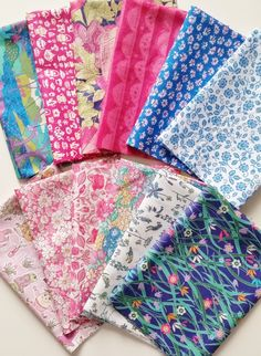 Liberty Spring/Summer 2015 Alice in Wonderland from Duckadilly I Love Liberty Fabric Club