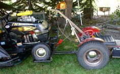 Nice Wrecker Riding Mower, Pickup Trucks, Lawn Mower, Rat, Tractors, Outdoor Power Equipment, Garage, Nice, Green