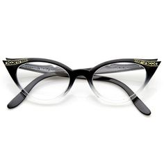 My Grandma wore glasses kind of like this until nearly the 1980s.