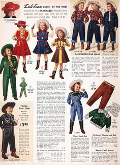 ecfb243bc6664 I just got a new pattern in the mail (the 1940s Rodeo Gal)