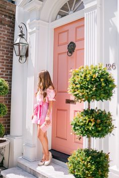 Cool Chic Style Fashion: Style J.Crew Pink by GMG