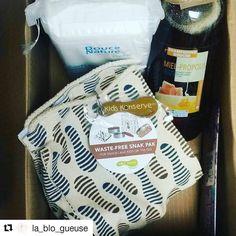 #Repost @la_blo_gueuse with @repostapp  Dernière commande @sebiobelgium : carrés en #cotonbio pour bébé #shampooing & douche #miel #propolis #natureetprogres et un sac à goûter #zerodechet