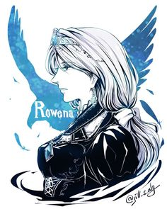 What Rowena Ravenclaw will look like in an anime. 0_0