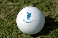 Polo ball in Argentina