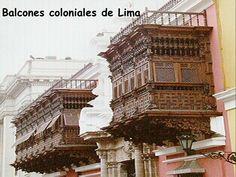 Lima: Balcones coloniales