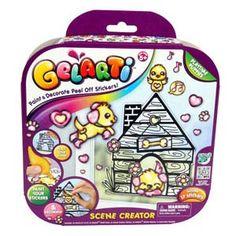 Gelarti Scene Creator - Playtime Puppies from Moose Toys Scene Creator, The Creator, Paint Paint, Moose Toys, Travel Toys, Glitter Paint, All Toys, Kids Store, Stickers