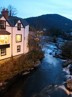Llangollen, Wales |  I can almost hear the water rush by.