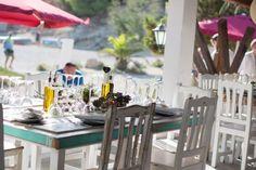 Bernirras Beach Restaurant Ibiza Daytime Lunch