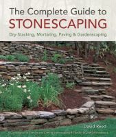 September 30, 2013: The complete guide to stonescaping : dry-stacking, mortaring, paving & gardenscaping by David Reed. Summary: A beginner-friendly guide available for anyone wanting to build stone walls (freestanding, retaining, dry-stacked or mortared), steps, benches, paths, patios, and borders. Featuring lots of how-to photos, informative illustrations, and practical projects, this giant resource is a must-have for homeowners' reference libraries.