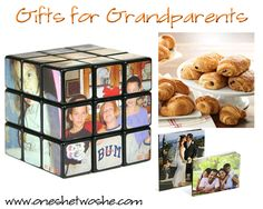 Gifts for Grandparents ~ 'Or so she says...' Blog www.oneshetwoshe.com #gifts #grandparents