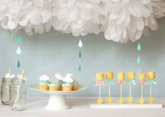 LOVE this baby shower theme idea!