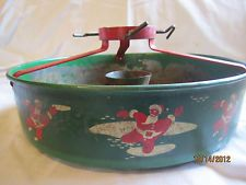 Vintage Christmas Tree Stand ~ Maremont Mufflers Store Advertising ...