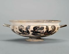 Kylix decorated with birds, sirens and panthers. Greek. | Museum of Fine Arts…