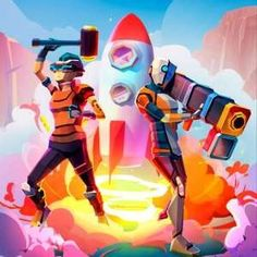 Rocket Royale Mod Apk Money The new chapter of battle royale games is here! Rocket Royale is online battle royale shooter where the action takes pla App Badges, Online Battle, Online Match, Battle Royale Game, Android Apk, Android Gratis, Pvp, New Chapter, My Animal