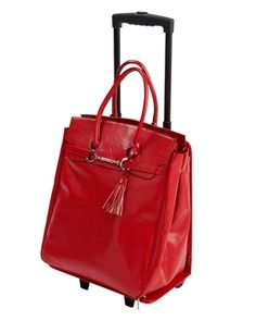 The Venture Rolling Business Bag by Nancy Lopez Golf is a business bag that rolls with plenty of room to carry everything. Buy now @ ReadyGolf.com!