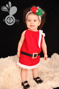 Santa Baby PillowCase Dress