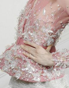 Pink- Christian Dior Haute Couture Spring 2010 Details