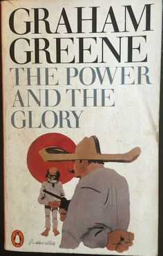 Design by Germano Facetti. Graham Greene - The Power and the Glory - Published in Penguin Books in 1962 - Illustration by Paul Hogarth