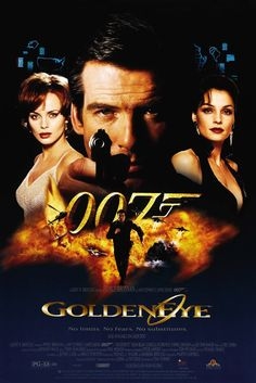 Golden Eye, my favorite Brosnan Bond film.