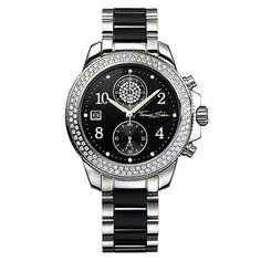 Buy Now New Thomas Sabo 2019 Collection at Acotis Jewellery. Call us on Thomas Sabo Glam & Soul Stainless Steel Zirconia Watch Trendy Watches, Elegant Watches, Beautiful Watches, Unique Watches, Women's Watches, Thomas Sabo, Tour Eiffel, Stainless Steel Watch, Stainless Steel Bracelet