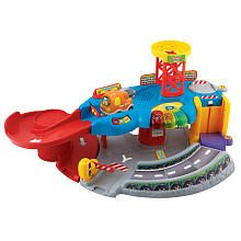 """Vtech Go! Go! Smart Wheels Tow & Teach Garage -  Vtech - Toys""""R""""Us 