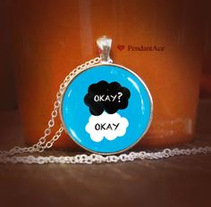 the fault in our stars pendant by PendantACE on Etsy