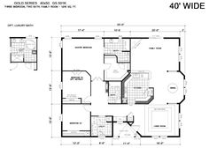 1600 sq ft 40 x 40 house floor plan google search barn for 40x40 floor plan