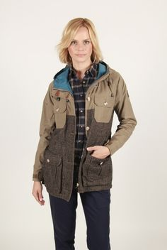 Penfield Tweed & Hudson Wax Hooded Mountain Park