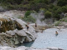 Rotorua Mud Pools, North Island  New Zealand