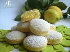 Biscotti con crema al limone | Miei dolci da sogno