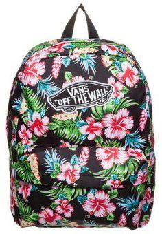 286f3cd26e3d5 Vans REALM - Zaino - hawaiian black - Zalando.it #offduty #sunny #covetme # vans #bag #hawaii #vanshawaii #hawaiisnbag