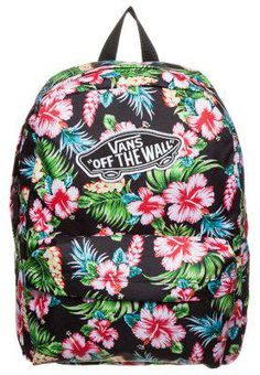 Vans REALM - Zaino - hawaiian black - Zalando.it #offduty #sunny #covetme #vans #bag #hawaii #vanshawaii #hawaiisnbag