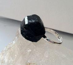 Black tourmaline adjustable crystal healing by ElementalLuxury