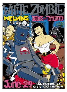 White Zombie/Melvins/Babes in Toyland - Coop